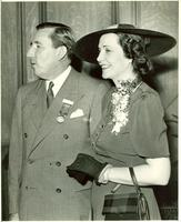 Claude and Mildred Pepper at the Young Democratic Clubs of America National Rally
