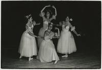 Four ballerinas perform