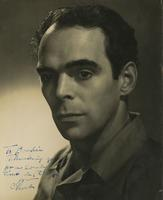 Autographed photograph of Charles Weidman
