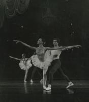 Ballet performance onstage