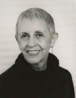 Nancy Smith in black turtleneck