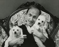 Richard Sias with two poodles