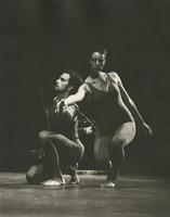 Jack Clark with female dancer