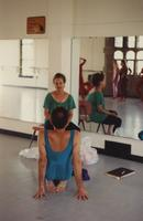 Lynda Davis teaching a student