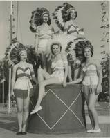Students During Homecoming, 1951