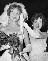 Charlotte Goodman Crowns Queen Carolyn Reeves, 1961