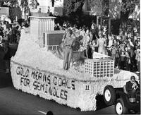 Winning Homecoming Float, 1963