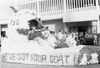 "Homecoming Float: ""We've Got Your Goat"""