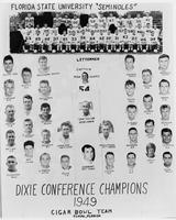 Dixie Conference Champions Cigar Bowl Team, 1949