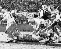 Florida State vs North Carolina State Winning Touchdown, 1963