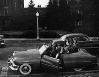 Female Students in a Car, 1951