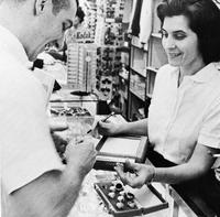 Selecting a Class Ring, 1962