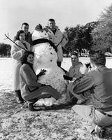 Snow at Florida State University, 1958