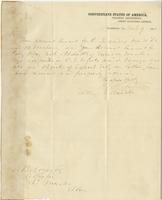 Letter from J. N. Robinson to A. B. Noyes, March 7, 1864