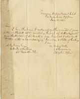 Letter from Archibald Roane to A. B. Noyes, January 18, 1865