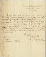 Letter from Archibald Roane to A. B. Noyes, August 9, 1864