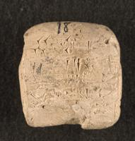 Sealed receipt of wood from bala labor, 2040 BCE