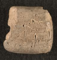Sealed note about reed bundles, 2042 BCE