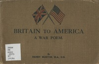 Britain to America: a war poem