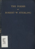 The poems of Robert W. Sterling