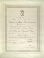Royal Society of Sciences Award