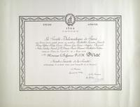 French Philomatique Society Award