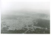 Aerial photograph of a landscape