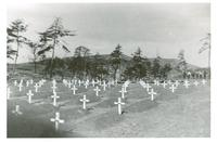A military graveyard
