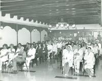 An audience of Pan American Hospital Employees