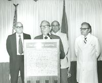 Claude Pepper speaking at the Pan American Hospital