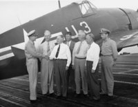 Aboard U.S.S. Wright, Commander Dean Garwood, Doak Campbell- Garth Akridge