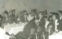 A group of men, including Claude Pepper, attending a Florida Delegation Luncheon