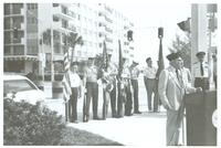 Claude Pepper addressing the Jewish War Veterans of Surfside Bay Harbor Post 723