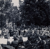 Band Performing Outside