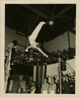 Bill Roetzheim Executing a Back Eagle on High Bar