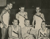 Hartley Price and the 1951 Men's Gymnastics Team