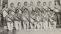 Hartley Price and FSU's 1951 Men's Gymnastics Team