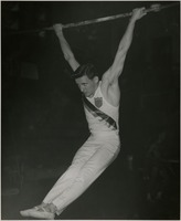 Jack Miles Performing on the High Bar