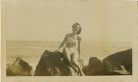 Mary Tarver at the Beach