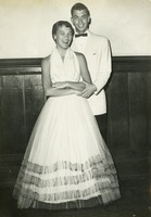 Joan Cunningham and George Hill at the Inter-Fraternity Council Dance