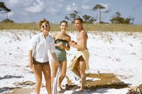 Three People at the Beach