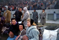 Don Pickett and the Court at the Bluegrass Bowl in Louisville, Kentucky