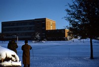 Geoglogy Building in the Snow