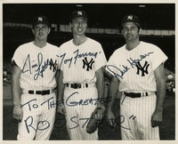 Jim Lyttle, Tony Ferrara, and Dick Howser