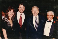 Robert Urich, Don Fauls and Two Unidentified People