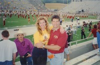 Unidentified Couple at During Halftime at an FSU Football Game