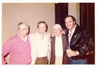 Dick Howser, Don Fauls and Burt Reynolds