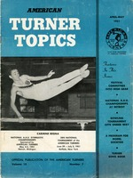Carmine Regna on the Cover of American Turner Topics