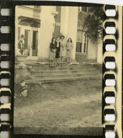 Unidentified Women In Front of Building