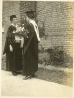 Marion Coleman and Elsie Hargrave at Commencement 1918